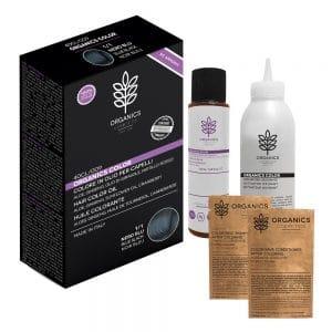 NERO BLU – Tinta per capelli Organics Color