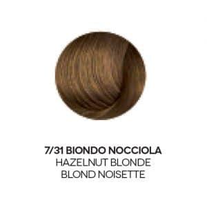 Colore capelli biondo nocciola