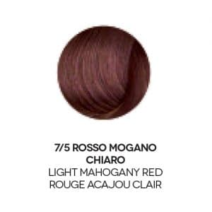 Colore capelli rosso mogano chiaro