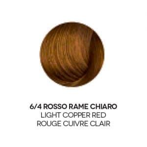 colore capelli rosso rame chiaro
