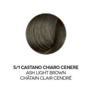 colore capelli castano cenere